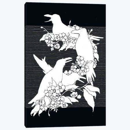 The Black Crows Canvas Print #TFA245} by Tobias Fonseca Canvas Artwork