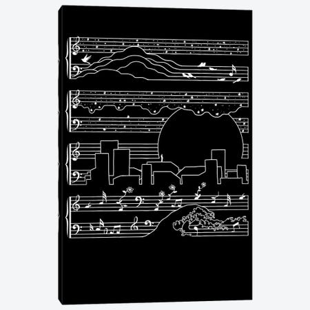 The Moonlight Sonata Canvas Print #TFA248} by Tobias Fonseca Canvas Art Print