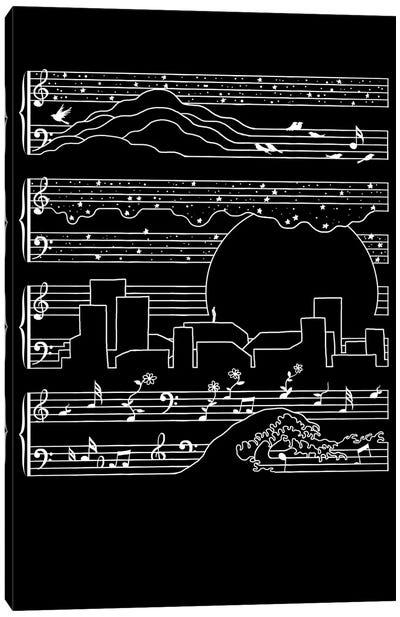 The Moonlight Sonata Canvas Print #TFA248