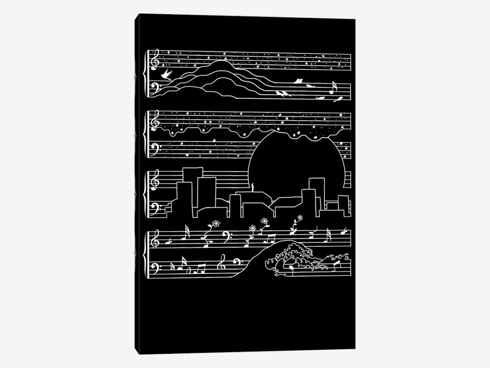 The Moonlight Sonata 1-piece Canvas Artwork