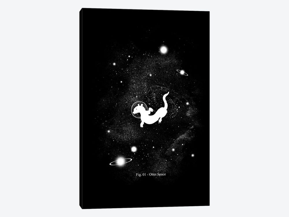 The Otter Space by Tobias Fonseca 1-piece Canvas Print
