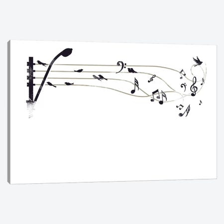 Urban Symphony Canvas Print #TFA259} by Tobias Fonseca Canvas Art