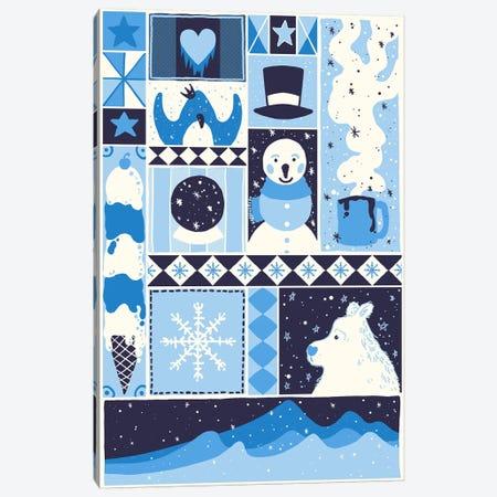 Winter Rectangle Canvas Print #TFA271} by Tobias Fonseca Canvas Art