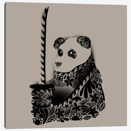 Yakuza Panda Canvas Print #TFA275} by Tobias Fonseca Canvas Art Print