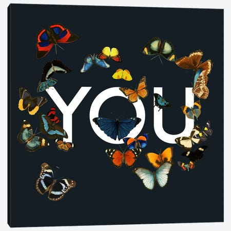 You Me Us Canvas Print #TFA277} by Tobias Fonseca Art Print