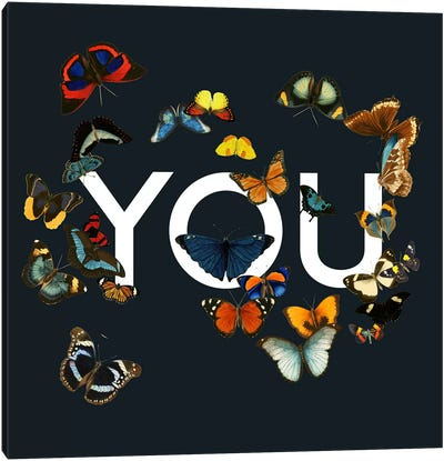 You Me Us Canvas Art Print