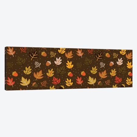 Autumn Colours, Panoramic Canvas Print #TFA279} by Tobias Fonseca Canvas Wall Art