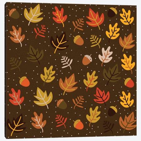 Autumn Colours, Square Canvas Print #TFA281} by Tobias Fonseca Canvas Art Print
