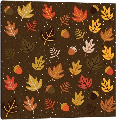 Autumn Colours, Square Canvas Art Print