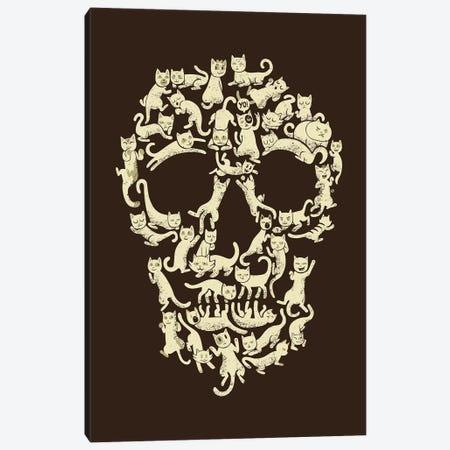 Catskull, Rectangle Canvas Print #TFA288} by Tobias Fonseca Art Print