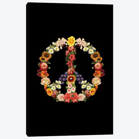 Flower Power, Rectangle Canvas Print #TFA294} by Tobias Fonseca Canvas Print