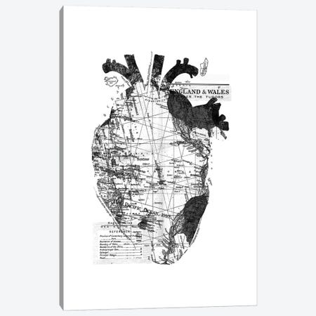 Heart Wanderlust, Rectangle Canvas Print #TFA298} by Tobias Fonseca Canvas Wall Art
