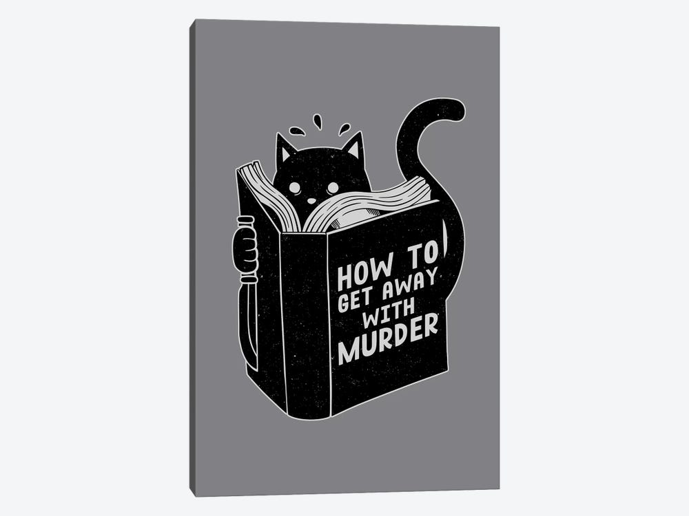 How To Get Away With Murder, Rectangle by Tobias Fonseca 1-piece Canvas Art Print