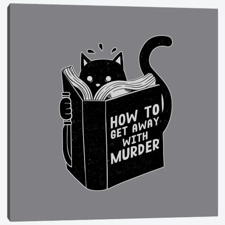 How To Get Away With Murder, Square Canvas Print #TFA301} by Tobias Fonseca Canvas Art