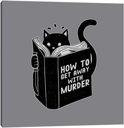 How To Get Away With Murder, Square Canvas Art Print