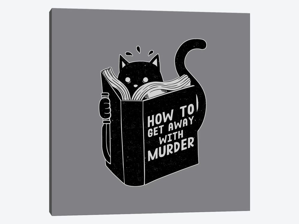 How To Get Away With Murder, Square by Tobias Fonseca 1-piece Canvas Artwork