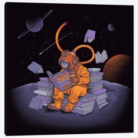 Diving Dress Space Adventures Canvas Print #TFA310} by Tobias Fonseca Canvas Art Print
