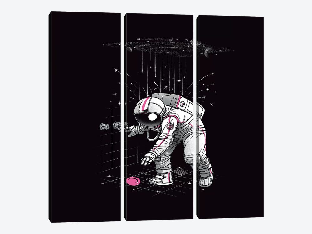 Meteor Shower by Tobias Fonseca 3-piece Canvas Wall Art