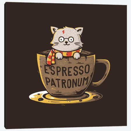Espresso Patronum Canvas Print #TFA345} by Tobias Fonseca Canvas Art Print