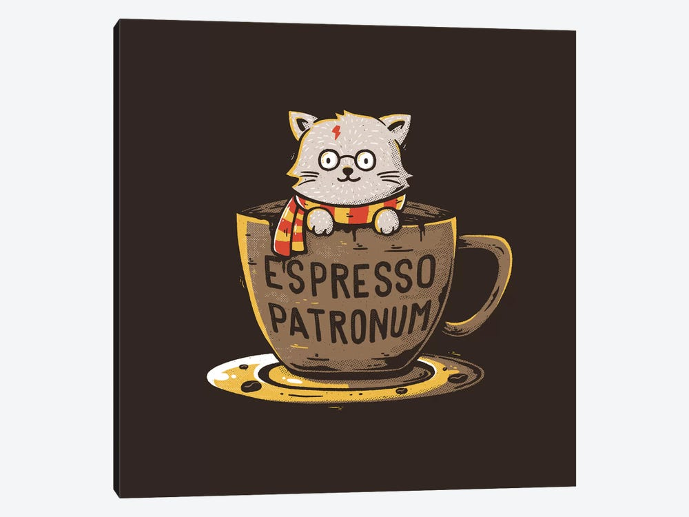 Espresso Patronum by Tobias Fonseca 1-piece Canvas Wall Art