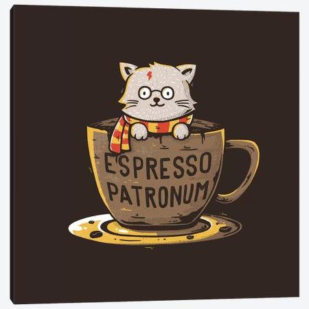 Espresso Patronum Canvas Print #TFA345} by Tobias Fonseca Canvas Art Print