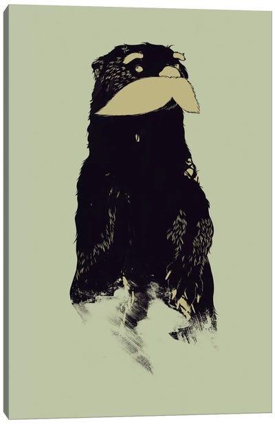 An Otter Moustache Canvas Art Print