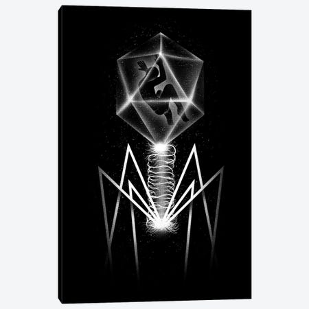 Bacteriophage Canvas Print #TFA36} by Tobias Fonseca Canvas Artwork