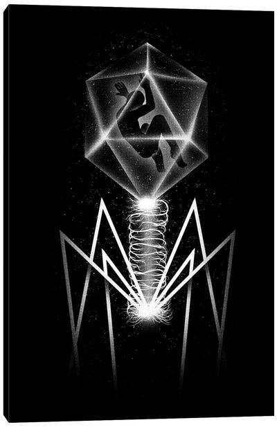 Bacteriophage Canvas Art Print