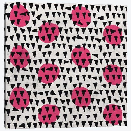 Rain Drops Triangles Canvas Print #TFA371} by Tobias Fonseca Canvas Print