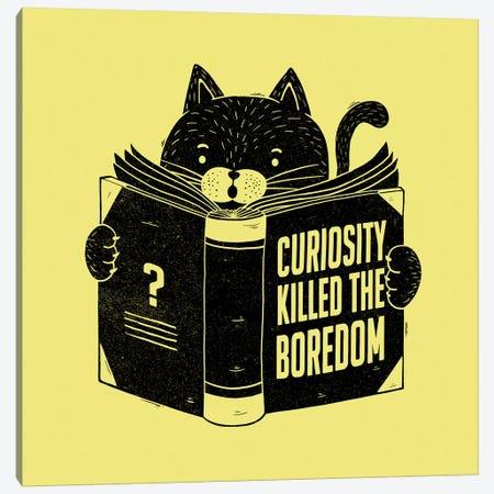Curiosity Killed The Boredom Canvas Print #TFA381} by Tobias Fonseca Canvas Artwork