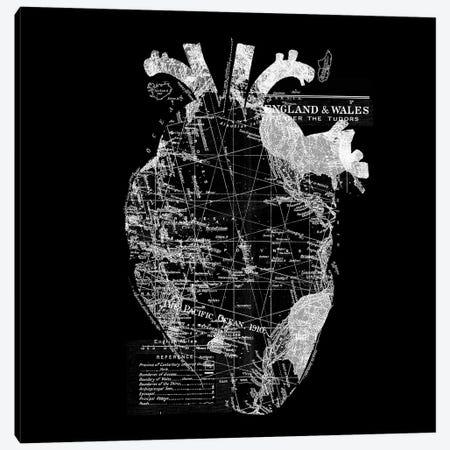Heart Wanderlust Canvas Print #TFA391} by Tobias Fonseca Art Print