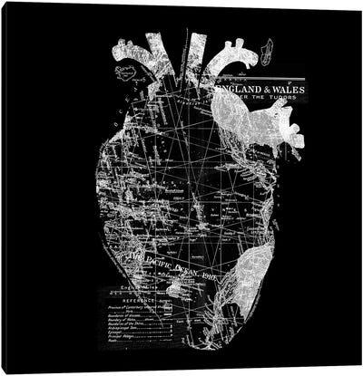 Heart Wanderlust Canvas Art Print