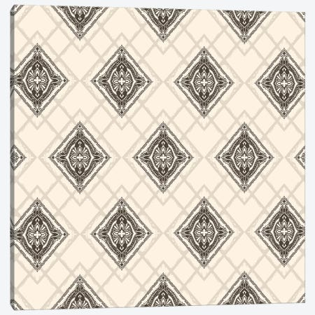 Square Mandala Pattern Canvas Print #TFA401} by Tobias Fonseca Art Print