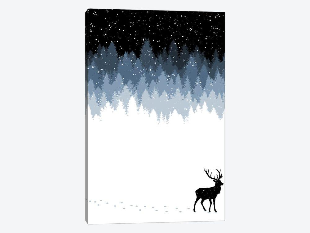 Winter Night by Tobias Fonseca 1-piece Canvas Print