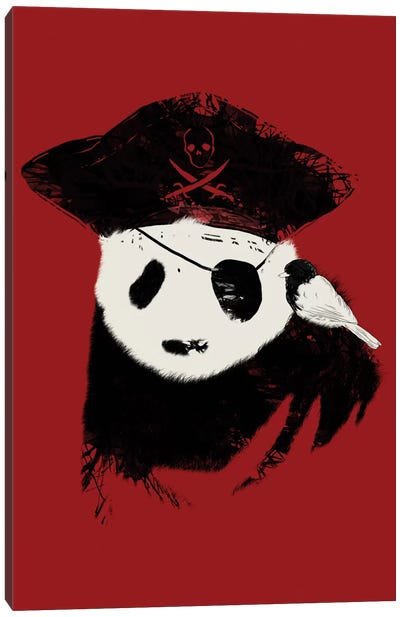 Bio Piracy Canvas Art Print