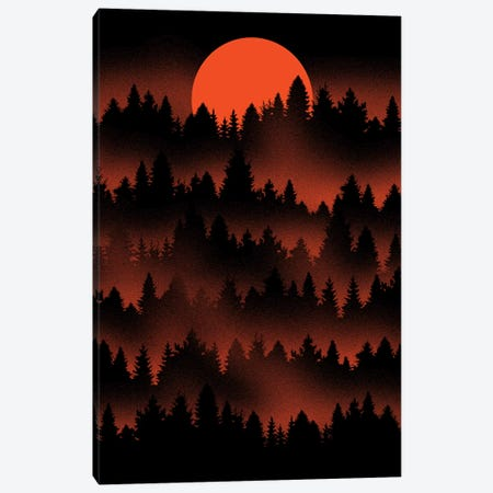Incendio Canvas Print #TFA411} by Tobias Fonseca Canvas Artwork