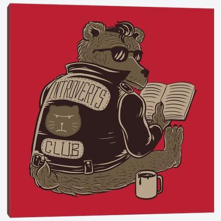 Introverts Club Canvas Print #TFA417} by Tobias Fonseca Canvas Print
