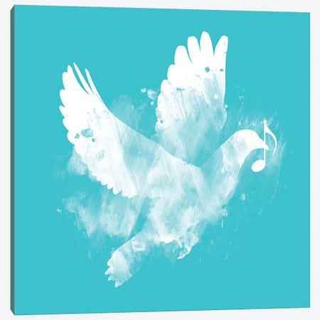 Bring Me Peace Canvas Print #TFA43} by Tobias Fonseca Canvas Art