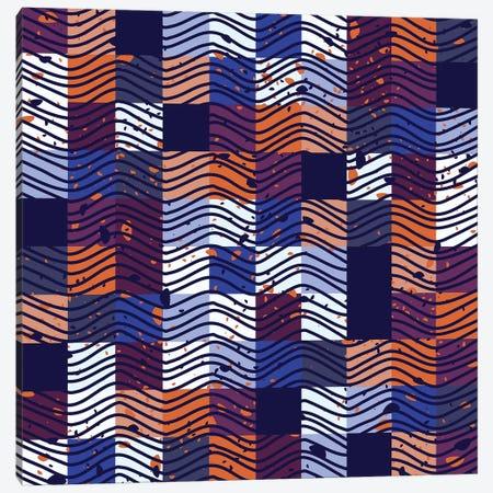 Square Wave Canvas Print #TFA442} by Tobias Fonseca Canvas Art Print