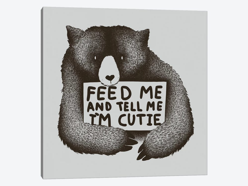 Feed Me And Tell Me I'm Cutie by Tobias Fonseca 1-piece Canvas Art