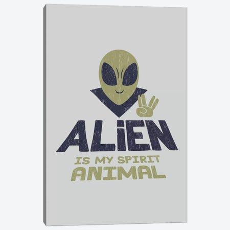 Alien Is My Animal Spirit Canvas Print #TFA473} by Tobias Fonseca Canvas Artwork