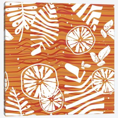 Orange Forest Canvas Print #TFA474} by Tobias Fonseca Canvas Art Print