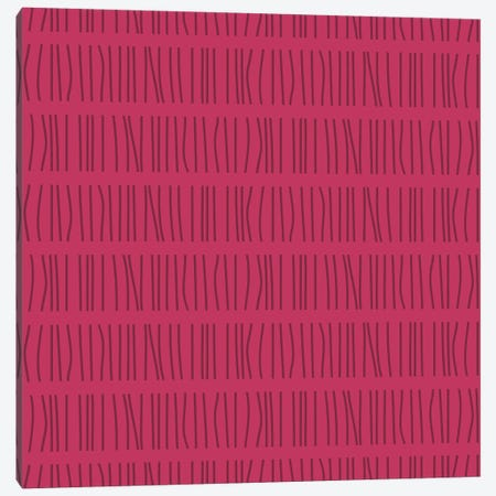 Vertical Lines Pattern Canvas Print #TFA477} by Tobias Fonseca Canvas Art Print