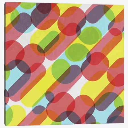 Bubble Burst Pattern Canvas Print #TFA478} by Tobias Fonseca Canvas Art