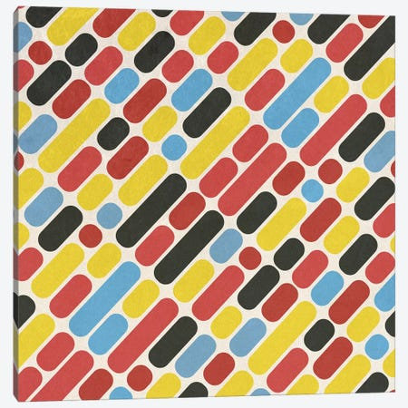 Colorful Trend Pattern Canvas Print #TFA484} by Tobias Fonseca Canvas Art