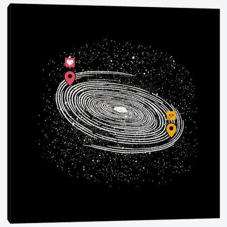 Love Long Distance 2.0 Canvas Print #TFA498} by Tobias Fonseca Canvas Wall Art