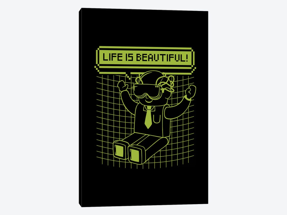 Life Is Beautiful by Tobias Fonseca 1-piece Canvas Print