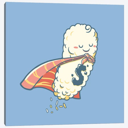 Super Sushi Lover Canvas Print #TFA517} by Tobias Fonseca Canvas Art