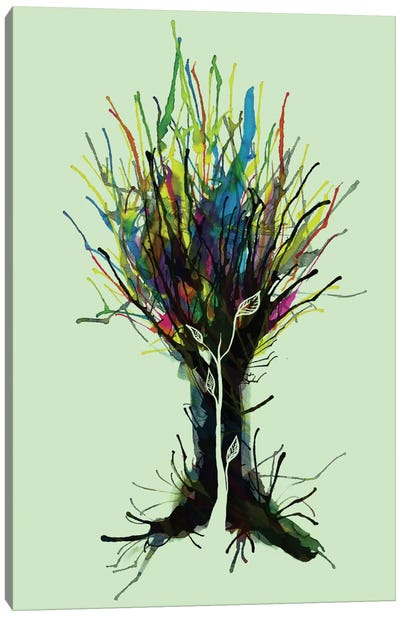 Creativity Canvas Art Print