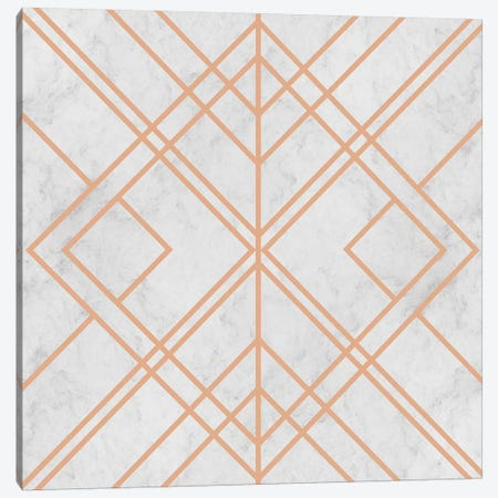 Art Deco Lines Pattern Canvas Print #TFA524} by Tobias Fonseca Canvas Print